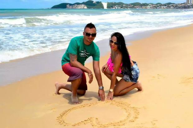 Magda e Eduardo Morro do careca