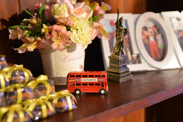 casamento tema viagem