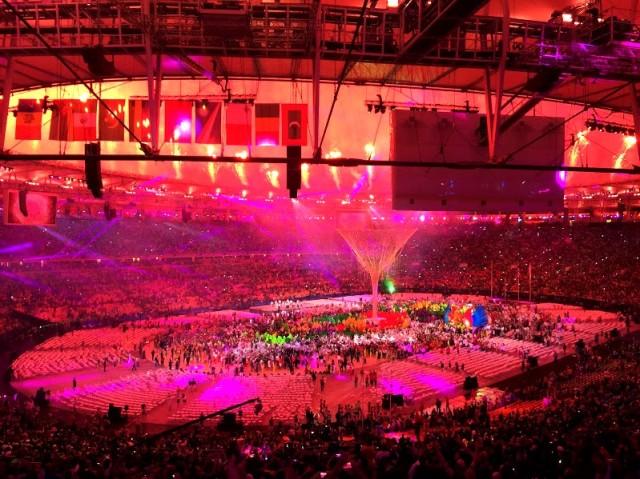 encerramento olimpiadas rio 2016 maracana