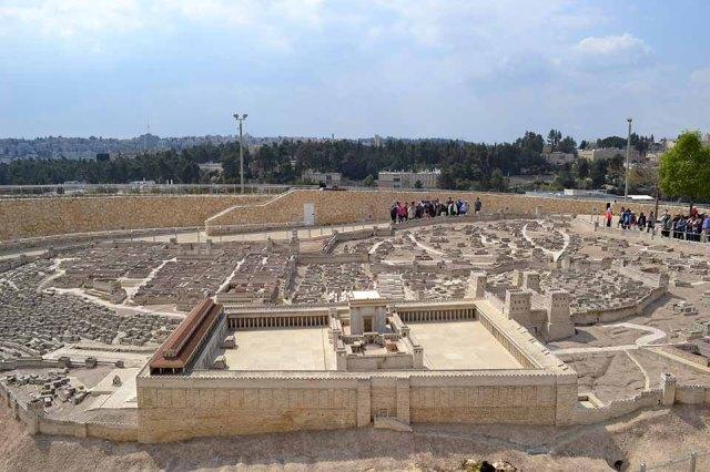 Maquete Museu de Israel