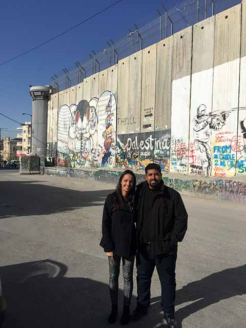 West Bank - muro em Belém