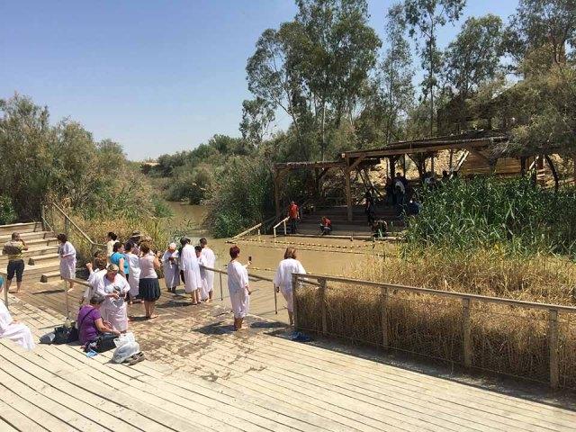Batismo Rio Jordão - Jericó