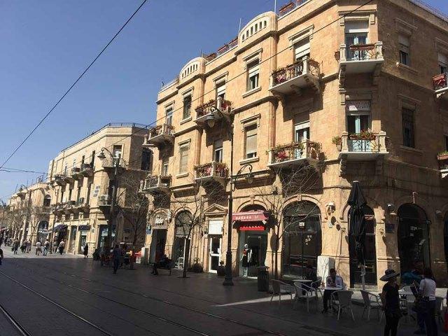 Yafo Street - Jerusalém Ocidental