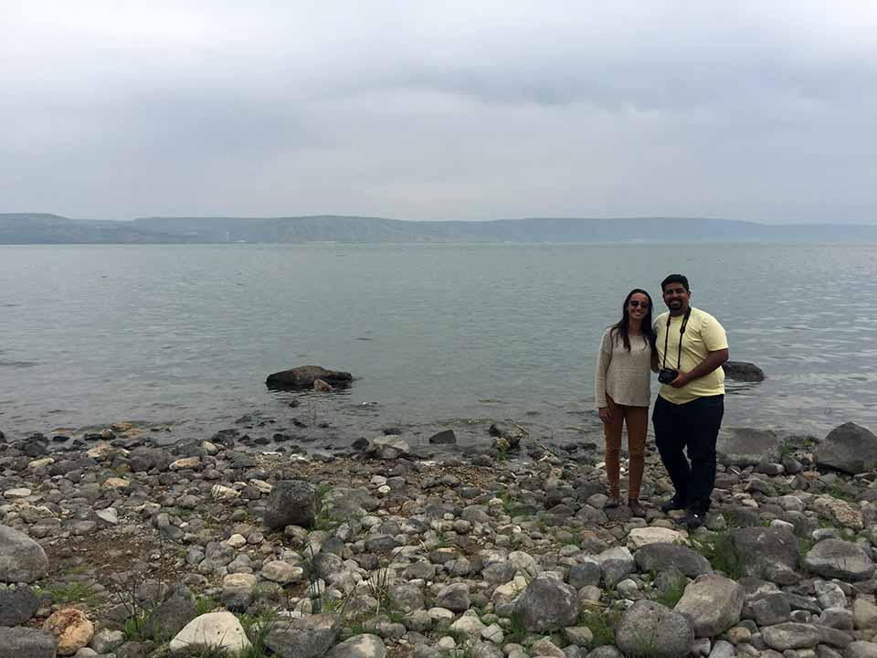 Mar da Galileia - Tabgha