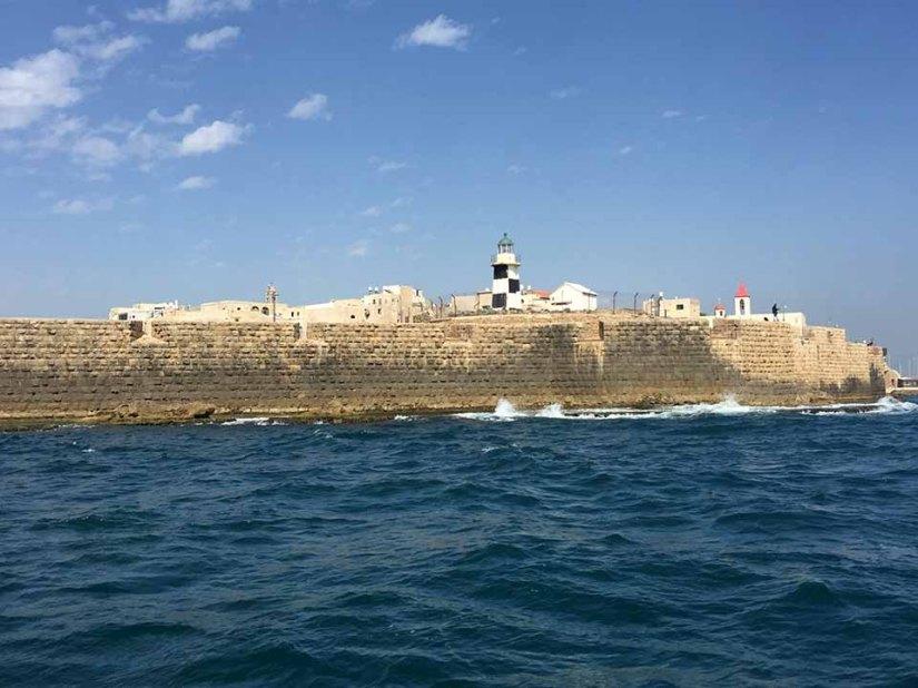 Fortaleza cruzada em Akko
