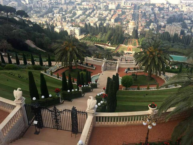 Santuário Bahaísta em Haifa