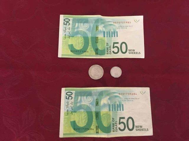 A moeda de Israel é o Novo Shekel Israelense