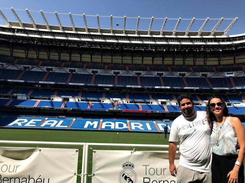 Santiago Bernabéu - Real Madrid