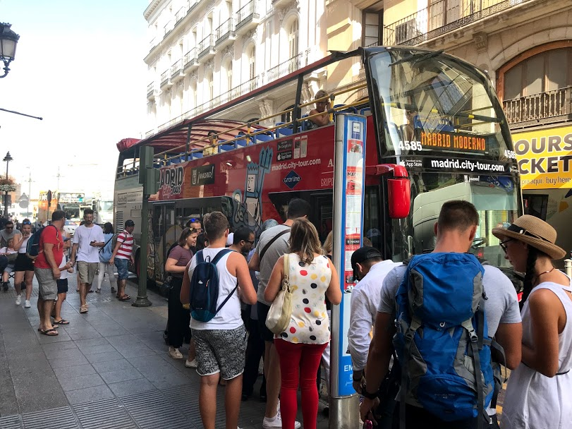 Madrid City Tour Bus