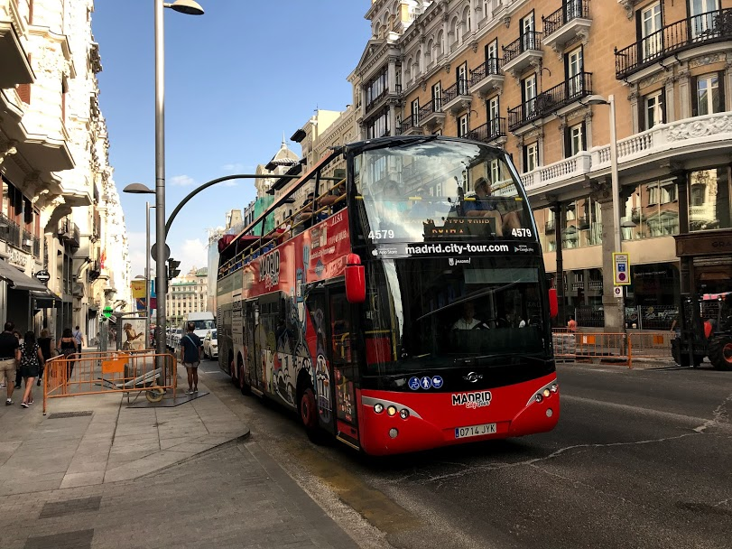 Madrid City Tour Bus