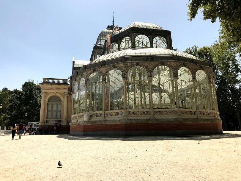 Palácio de Cristal - Madrid