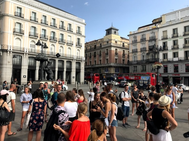 Puerta de la Sol Madrid