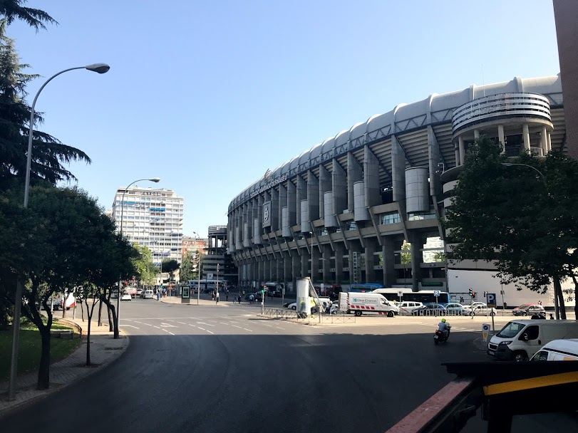 Santiago Bernabeu - Real Madrid
