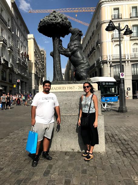 Estátua do Urso e do Medronheiro Madrid