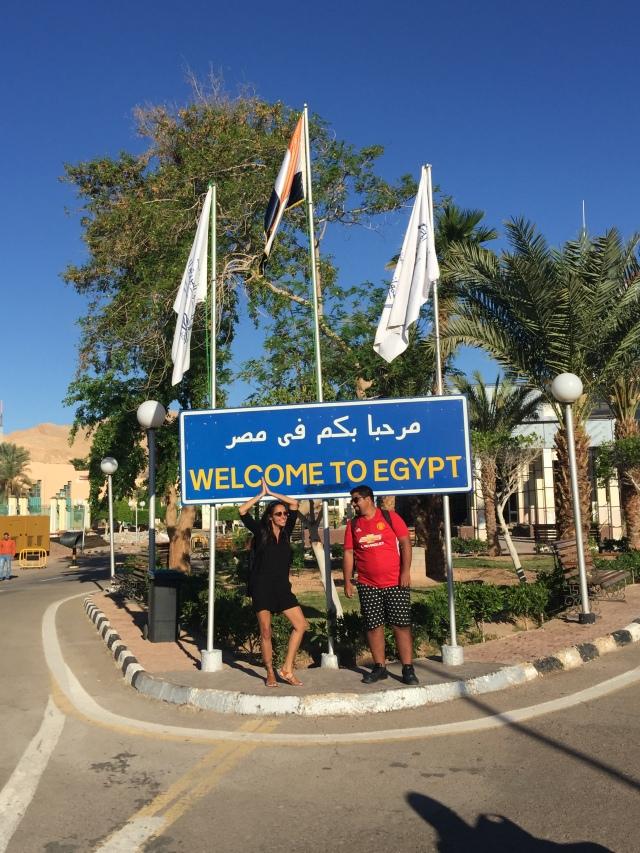 Cruzando fronteira Israel Egito