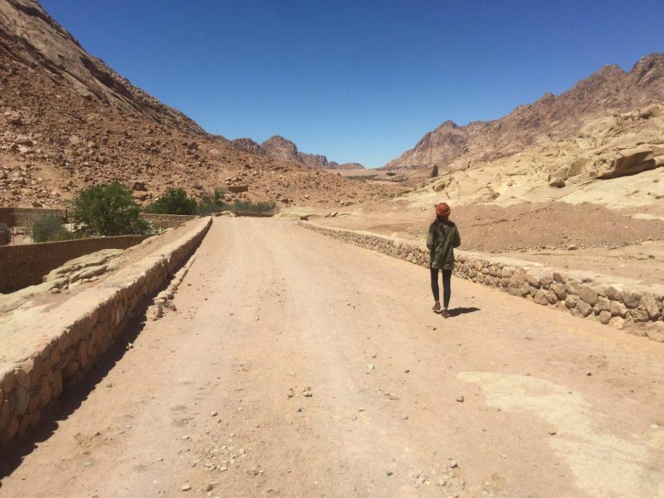 A caminho do Monte Sinai