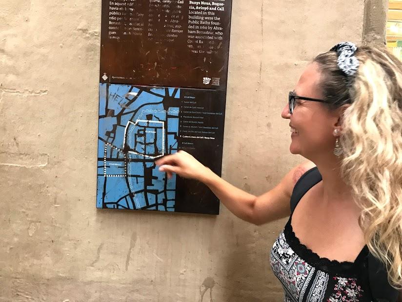 guia brasileira em barcelona