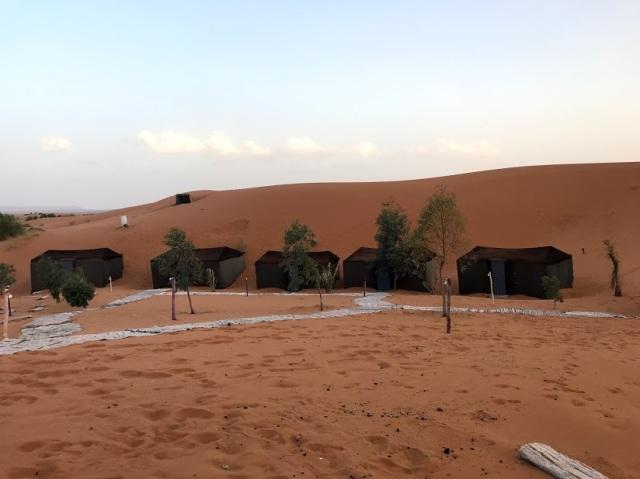 Desert Camp Amanar Morroco